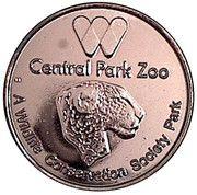 Token - New York Central Park Zoo (Sea Lion) – reverse