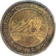 Token - Grand Teton National Park – obverse
