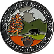 Token - Great Smoky Mountains (Cable Mill) – obverse