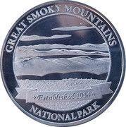 Token - Great Smoky Mountains (Clingmans Dome) – reverse