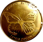 Token - Houston Museum of Natural Science (Monarch Butterfly) – obverse