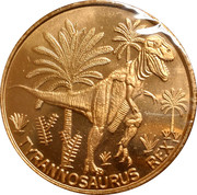 Token - Houston Museum of Natural Science (T-Rex) – obverse