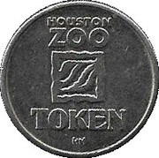 Token - Houston Zoo (Gorilla) – reverse