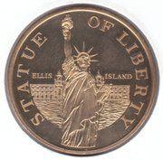 Token - Liberty Island (Statue of Liberty) – reverse