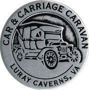 Token - Luray Valley Museum (Luray Caverns, VA) – reverse