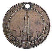 Token - New York (Empire State Building) – obverse