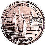 Token - New York (Statue of Liberty & Ellis Island) – obverse