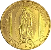Token - New York, St. Patrick's Cathedral (Our Lady of Guadalupe) – obverse