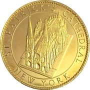 Token - New York, St. Patrick's Cathedral (Our Lady of Guadalupe) – reverse