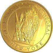 Token - New York, St. Patrick's Cathedral (Pieta) – reverse