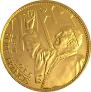 Token - New York, St. Patrick's Cathedral (Pope Francis) – obverse