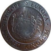 2 ECU (Britannia) – obverse