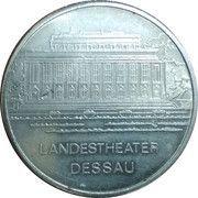 Token - Dessau (Landestheater) – obverse