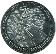 10 ECU - Beatrix (Chr. Huygens & Const. Huygens) -  reverse