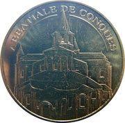 Monnaie de Paris - Abbatiale de Conques – obverse