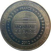 Monnaie de Paris - Abbatiale de Conques – reverse