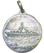 Medal - Nave Cacciatorpediniere Audace – reverse