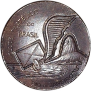 Medal - Brazilian Philatelic Club (20th Anniversary) – obverse