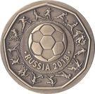 Token - Saint Petersburg (2018 FIFA World Cup Russia) – reverse