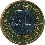 1 E (Cyprus Euro Fantasy Token) – obverse