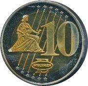 10 Euro – reverse