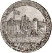 Medal for the New Docks – obverse