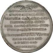 Medal for the New Docks – reverse