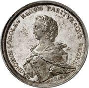 Medal - Wedding of Crownprince Frederik – reverse