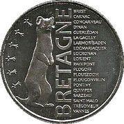 Monnaie de Paris - Bretagne – obverse