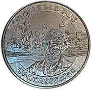 Monnaie de Paris - Carcassonne (Viollet Le Duc) – obverse