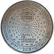 Monnaie de Paris - Carcassonne (Viollet Le Duc) – reverse