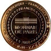 Monnaie de Paris - Château de Blandy-les-Tours – reverse