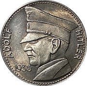 5 Reichsmark (Adolf Hitler) – obverse