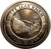 ECU - Beatrix (175 years of KNRM) -  obverse