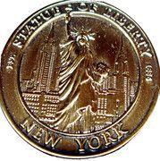 Token - New York (Statue of Liberty) – obverse