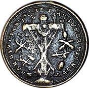 Pilgrimage medal - Sankt Emmeran monastery (Regensburg) – obverse