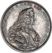 Medal - Christian VI (King's death) – obverse