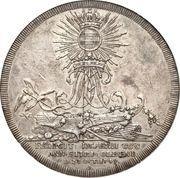 Medal - Frederik V (House of OldenburgAnniversary) – reverse