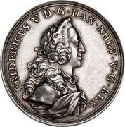 Medal - Frederik V (House of Oldenburg Anniversary) – obverse