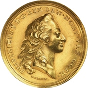 Gold prize medal of the Academy of Fine Arts – obverse