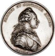 Medal - Frederik V (Sovereignty Anniversary) – obverse