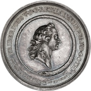 Medal - Frederik V (Death of King) – obverse