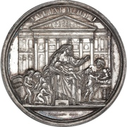Medal - Frederik V (Death of King) – reverse