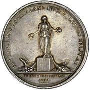 Prize medal of Royal Danish Agricultural Society – obverse