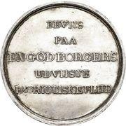 Medal of Landhusholdningsselskapets – reverse