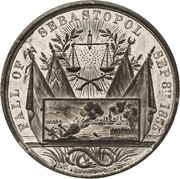 Medal - Conquest of Sebastopol and the Treaty of Paris – obverse