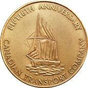 Medal - Canadian Transport Company – obverse