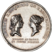 Medal - Birth of Princess Maria Louise – obverse