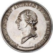 Medal in honor of Andreas Bernstorff – obverse