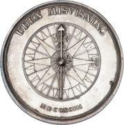 Medal in honor of Andreas Bernstorff – reverse
